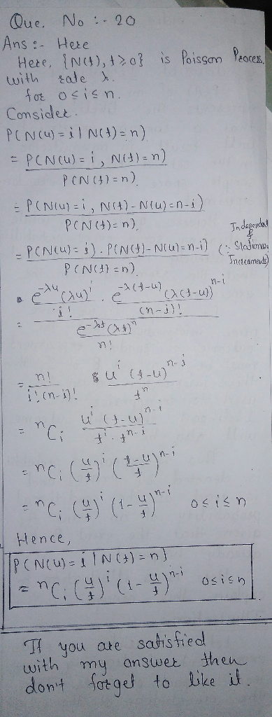Poisson process homework solutions custom admission paper writing service for phd