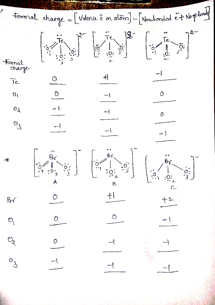 Teo3 Lewis Structure