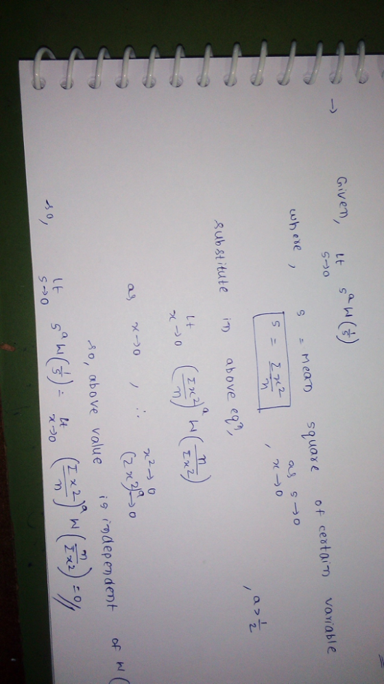 Givem, t S ニnear) square of certam vorable a O 2 sub st itute i.) above egn ,ΑΟ, αbove value i9rm dependent of 12 9