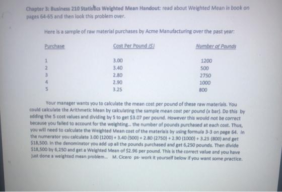 Homework help handout