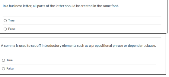 Elements Of Business Letter from img.homeworklib.com