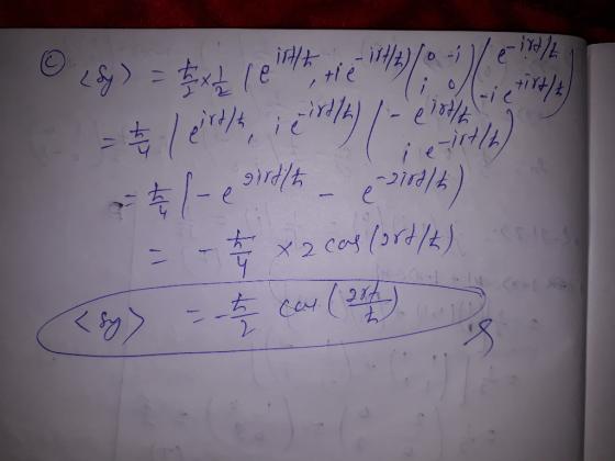 Quantum mechanics homework help