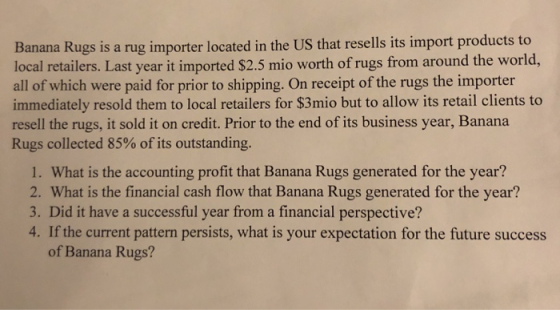 To Banana Rugs Is A Rug Importer