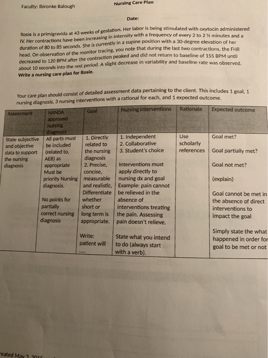Please help me with two care plan and two nursing ...