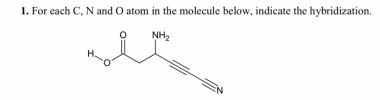 1.Identify the hybridization of the C atom in CH2Br2. 2 ...