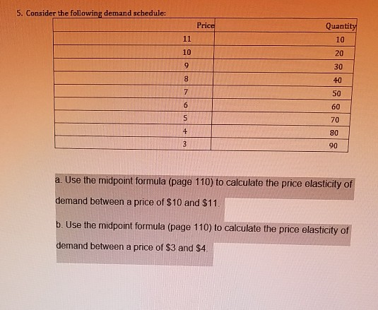 Please Help With These Two Questions 5 Consider The Following