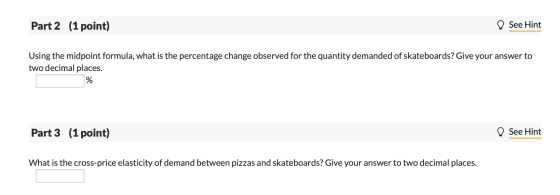 The Price Of A Large Pizza Decreased From 21 00 To 17 00 As A