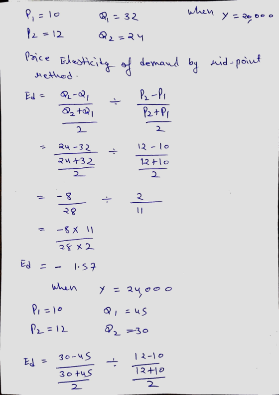 7 Problems And Applications Q7 Suppose That Your Demand Schedule For Pizza Is As Follows Price Homeworklib