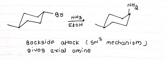 Draw a line-angle formula for the major organic product of