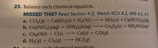23. What Is The Molarity Of NO3 In Each Solution? MISSED