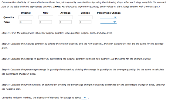 2 Calculating The Price Elasticity Of Demand A Step By Stepguide