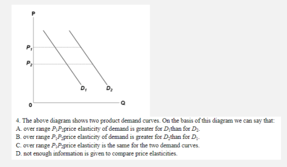 Answer And Explain Why D D2 4 The Above Diagram Shows Two