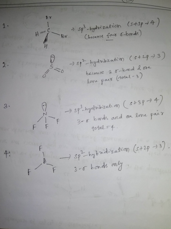 Quickly Determine The sp3, sp2 and sp Hybridization - Chemistry Steps